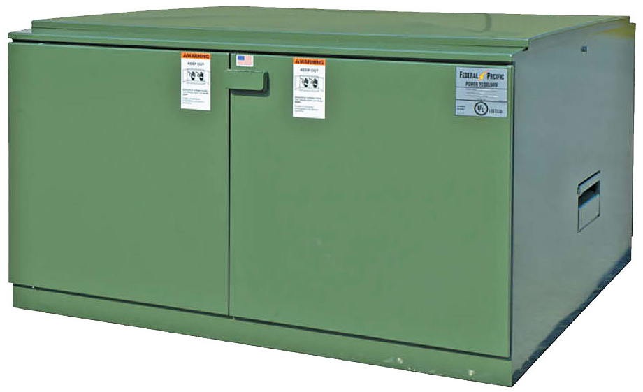 Pad Mounted Switchgear Federal Pacific