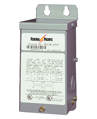 Dry-Type Transformers - Federal Pacific on