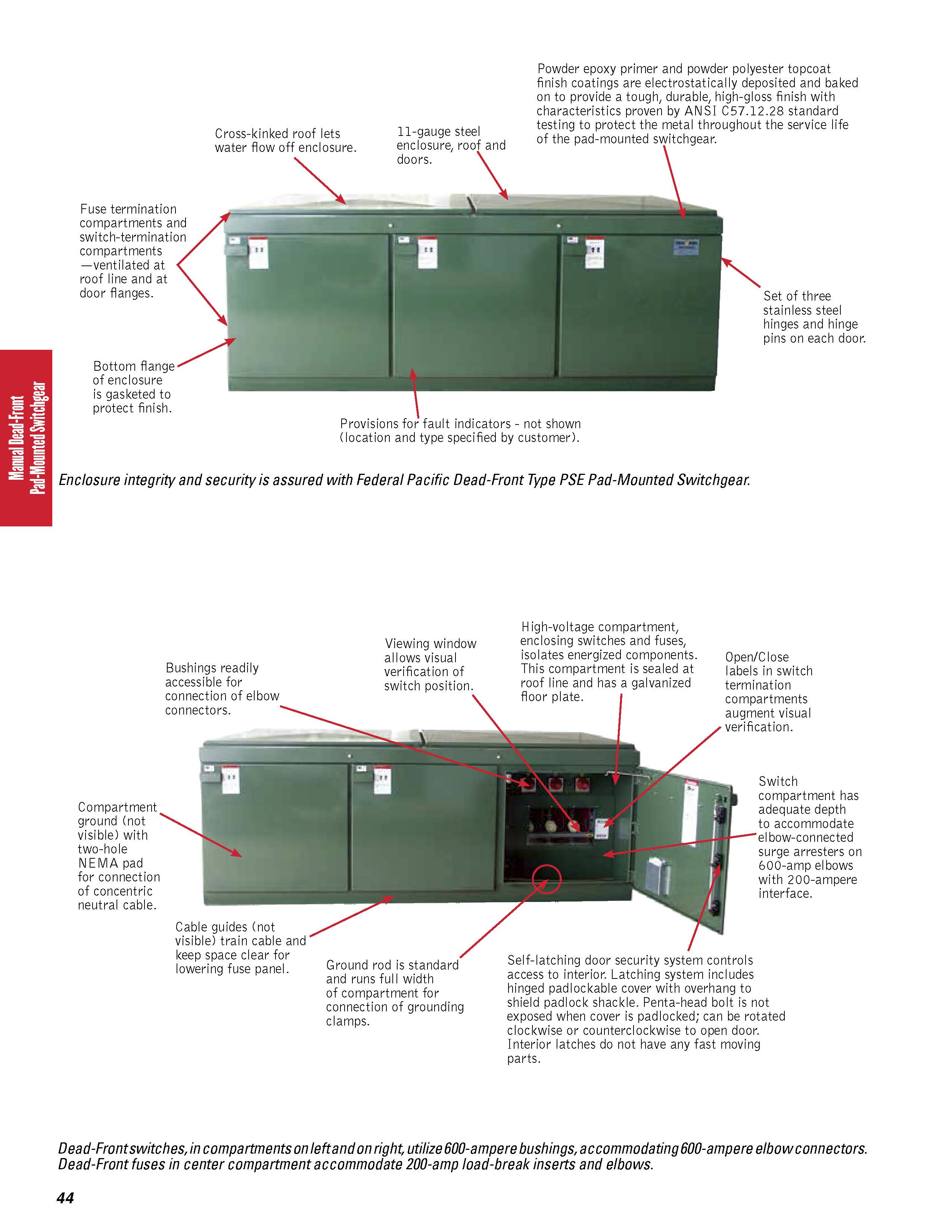 federal fuse box federal pacific switchgear product catalog federal pacific  federal pacific switchgear product